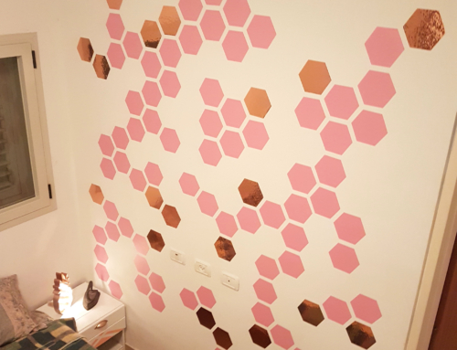 DIY stickers Hexagons Wall