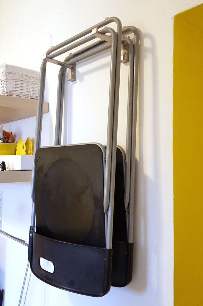 ikea hack folding chairs Gunde Bjarnum