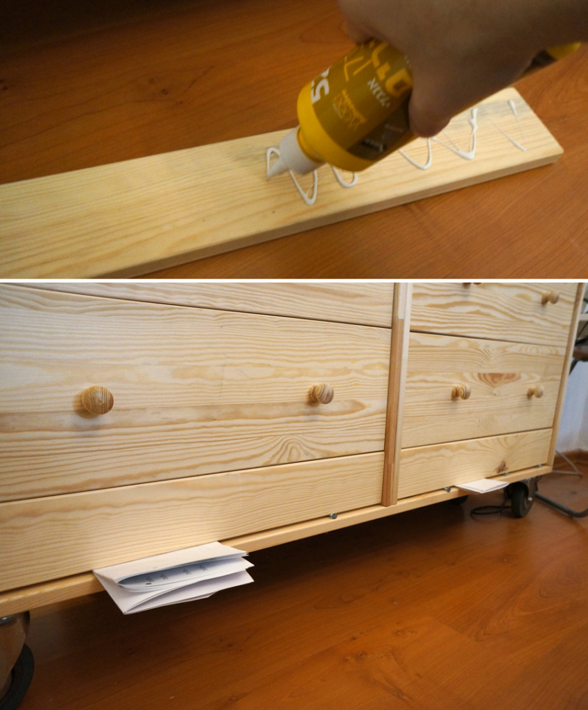 IKEA hack rast - tutorial